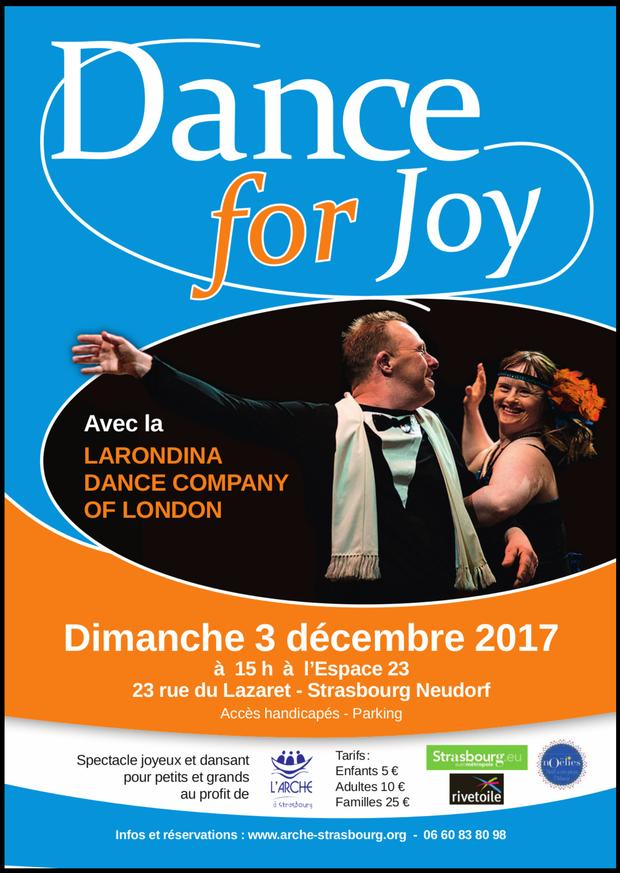Affiche Dance for joy !